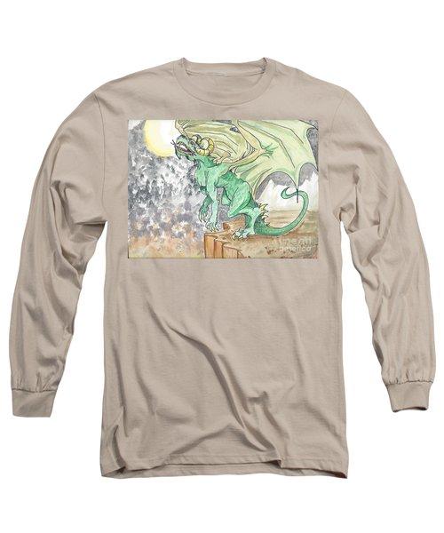 Leaping Dragon Long Sleeve T-Shirt