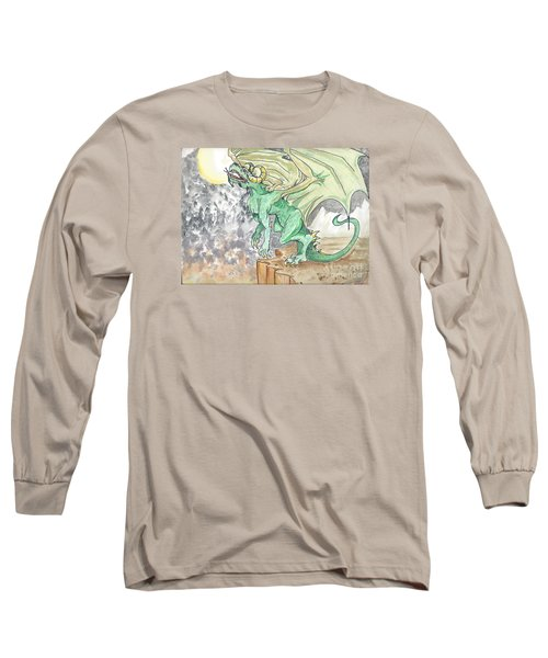 Leaping Dragon Long Sleeve T-Shirt