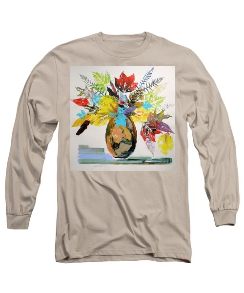 Leaves And Fronds Long Sleeve T-Shirt