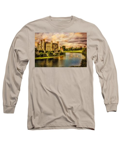 Leeds Castle Landscape Long Sleeve T-Shirt