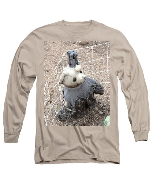 Left Outside Alone Long Sleeve T-Shirt