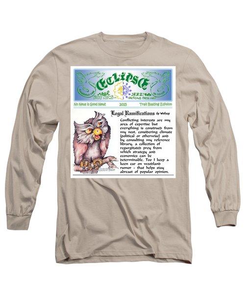 Real Fake News Legal Column 1 Long Sleeve T-Shirt