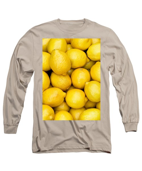 Lemons 02 Long Sleeve T-Shirt