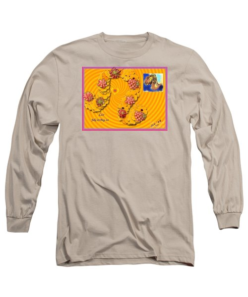 Long Sleeve T-Shirt featuring the digital art Leo  by The Art of Alice Terrill