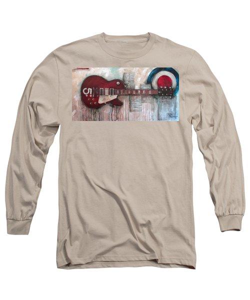 Les Paul Number 5 Long Sleeve T-Shirt