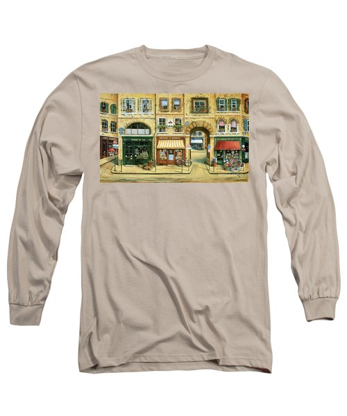 Les Rues De Paris Long Sleeve T-Shirt
