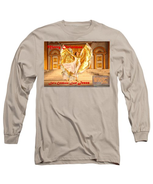 Let's Celebrate Lord Jesus And Dance Long Sleeve T-Shirt