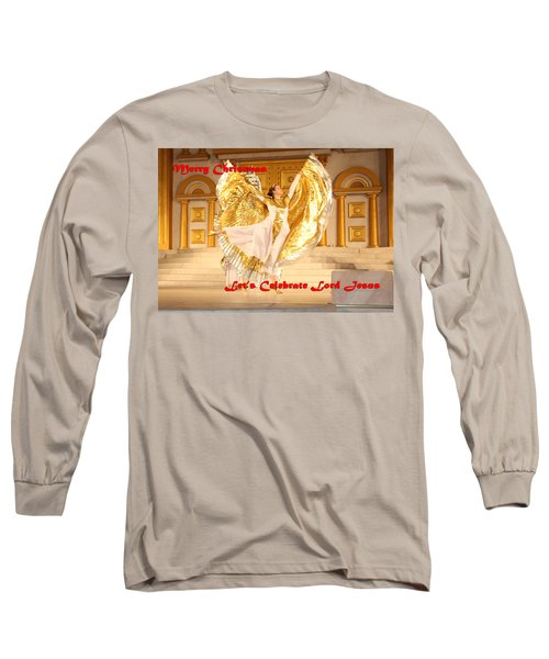 Let's Celebrate Lord Jesus4 Long Sleeve T-Shirt
