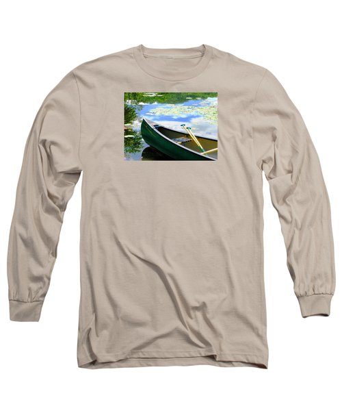 Let's Go Out In The Old Town Long Sleeve T-Shirt by Angela Davies