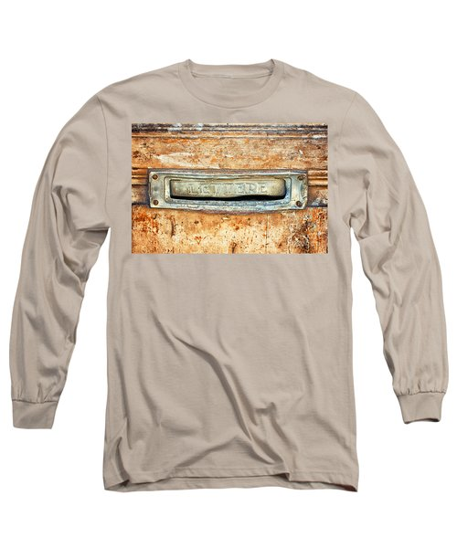 Lettere Letters Long Sleeve T-Shirt by Silvia Ganora