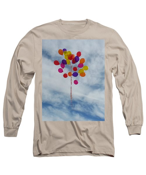 Long Sleeve T-Shirt featuring the photograph Letting Go by Emmy Marie Vickers
