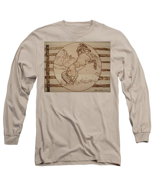 Wild Horse Long Sleeve T-Shirt by Sean Connolly