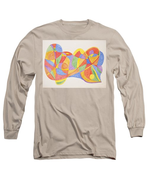 Long Sleeve T-Shirt featuring the painting Graffiti Life  by Stormm Bradshaw