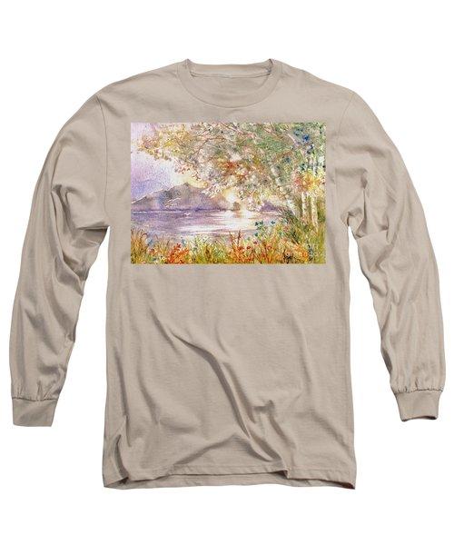 Light Through The Pass Long Sleeve T-Shirt