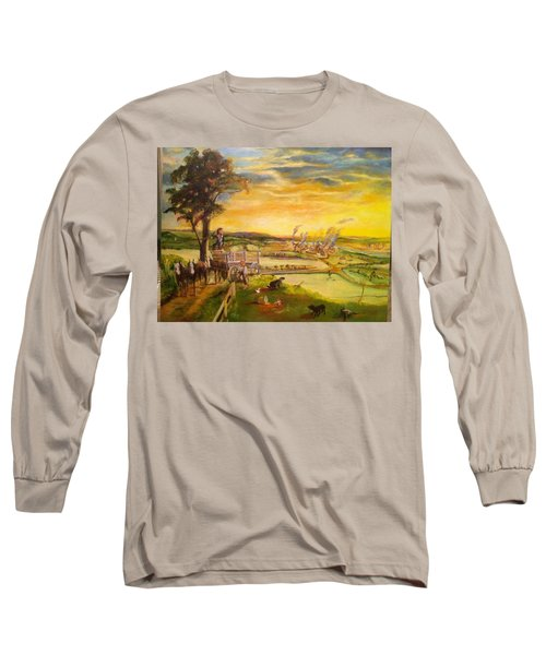 light2 - Shadows Long Sleeve T-Shirt