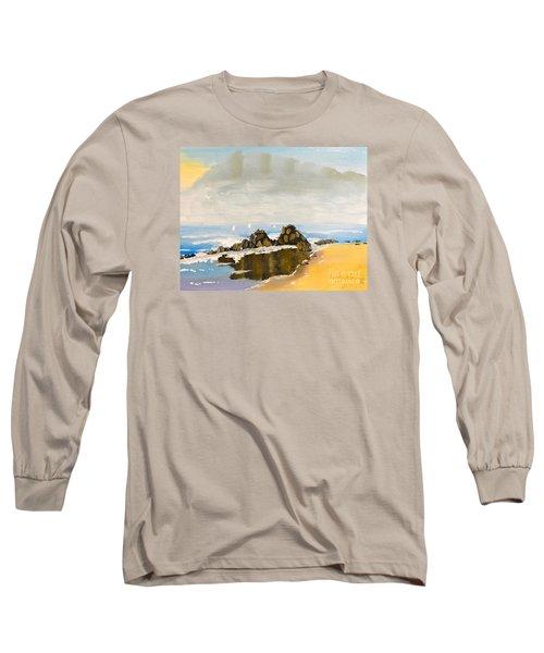 Lighthouse Beach Long Sleeve T-Shirt