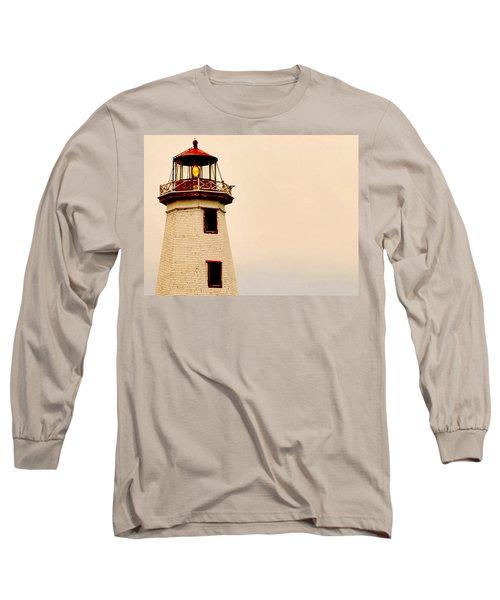Lighthouse Beam Long Sleeve T-Shirt by Steve Archbold