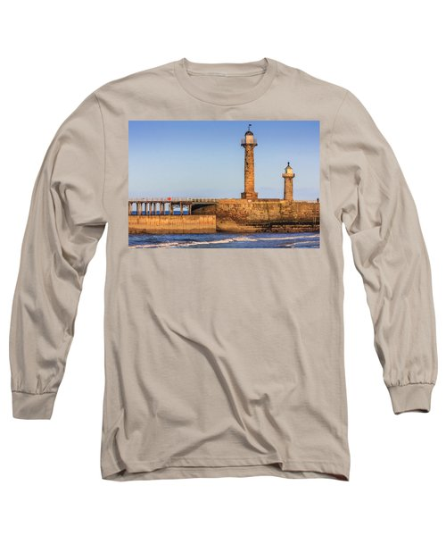 Lighthouses On The Piers Long Sleeve T-Shirt