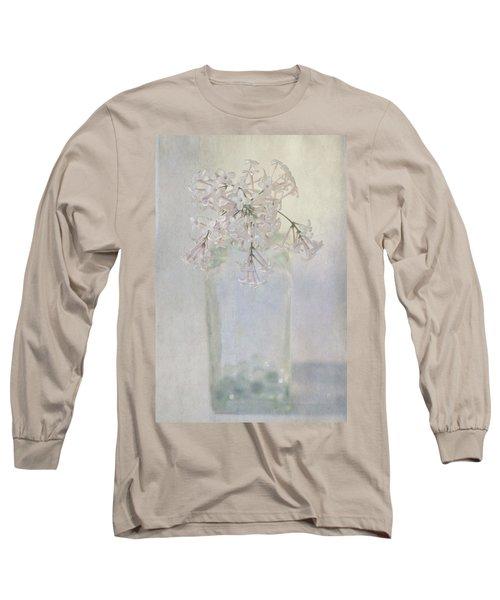 Lilac Flower Long Sleeve T-Shirt