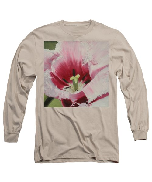 Lilicaea Tulipa Long Sleeve T-Shirt by Claudia Goodell