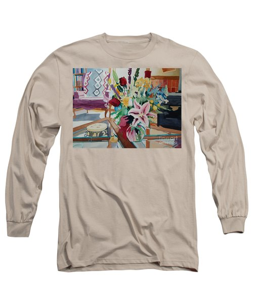 Lily Still Life Long Sleeve T-Shirt