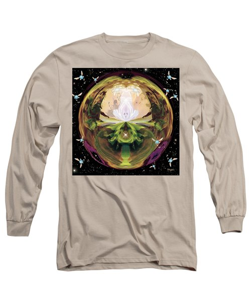 Long Sleeve T-Shirt featuring the photograph Link From The Legend Of Zelda by Paula Ayers
