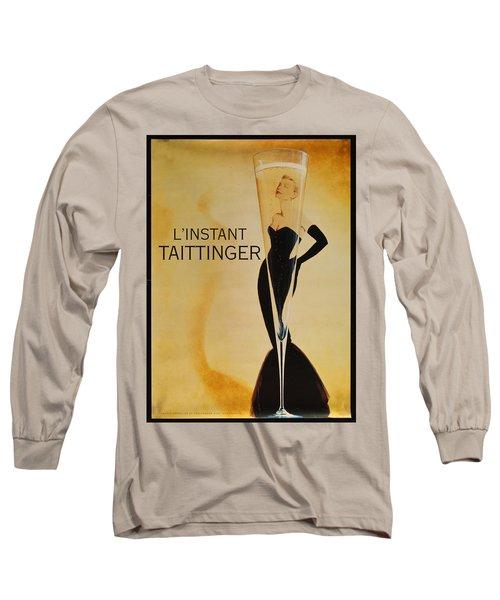 L'instant Taittinger Long Sleeve T-Shirt