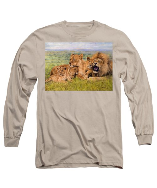 Lion Family Long Sleeve T-Shirt