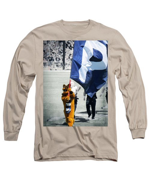 Lion Leading The Team Long Sleeve T-Shirt