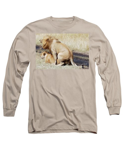 Lions Mating Long Sleeve T-Shirt