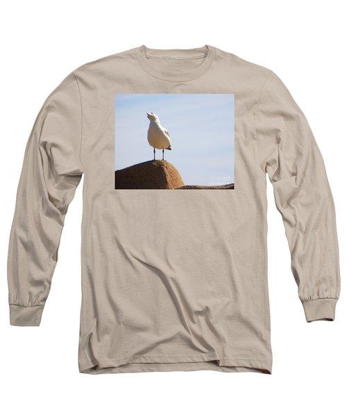 Listen-up Long Sleeve T-Shirt by Joy Hardee