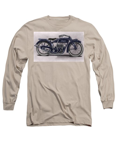 Little Blue Indian 2 Long Sleeve T-Shirt