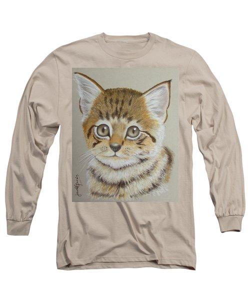 Little Kitty Long Sleeve T-Shirt by Janet Garcia