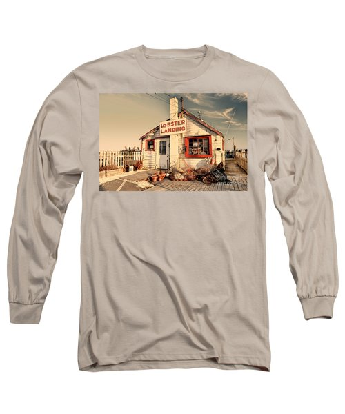 Lobster Landing Clinton Connecticut Long Sleeve T-Shirt