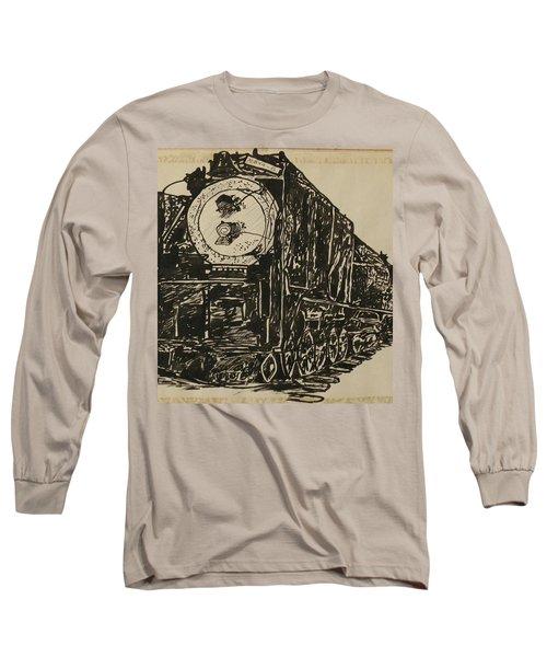 Locomotive Study Long Sleeve T-Shirt