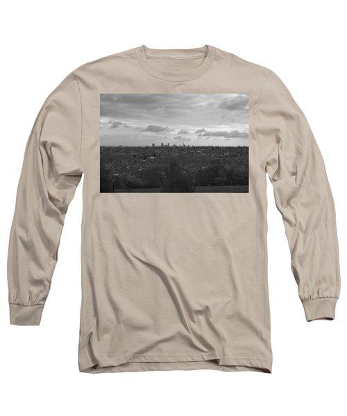 Long Sleeve T-Shirt featuring the photograph London City by Maj Seda