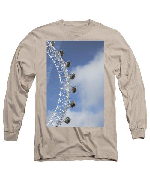 London Eye Long Sleeve T-Shirt by Joana Kruse