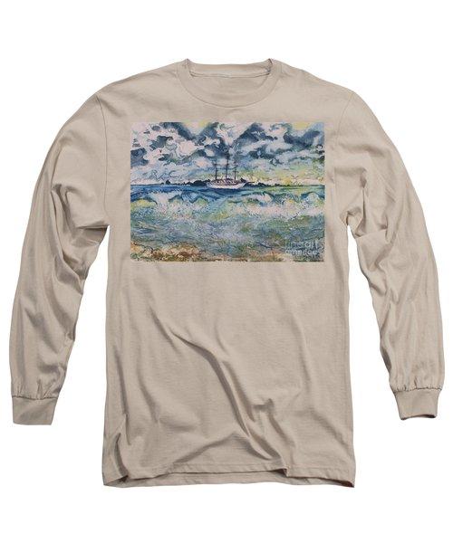 Lone Vessel  Long Sleeve T-Shirt
