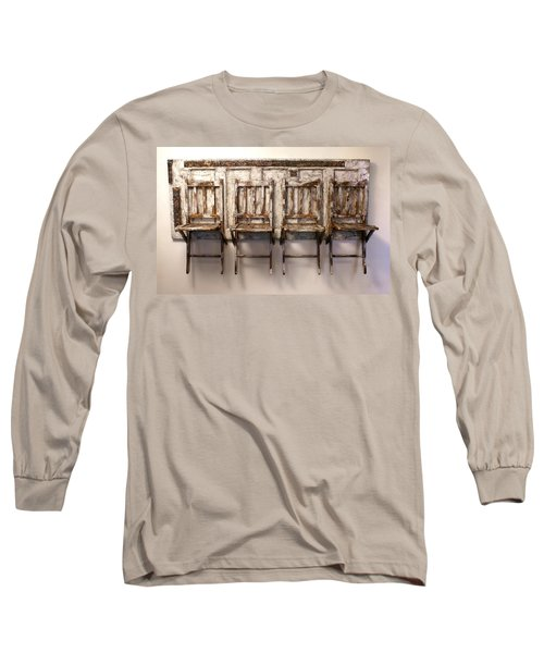 Long Wait By The Door Long Sleeve T-Shirt