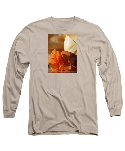 Longing For The Sea Long Sleeve T-Shirt by Angela Davies