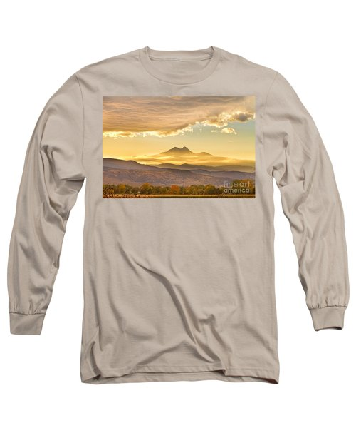 Longs Peak Autumn Sunset Long Sleeve T-Shirt