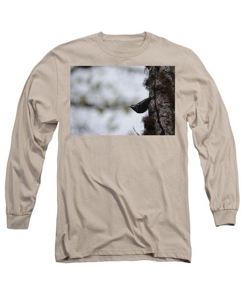 Looking Ahead Long Sleeve T-Shirt by James Petersen