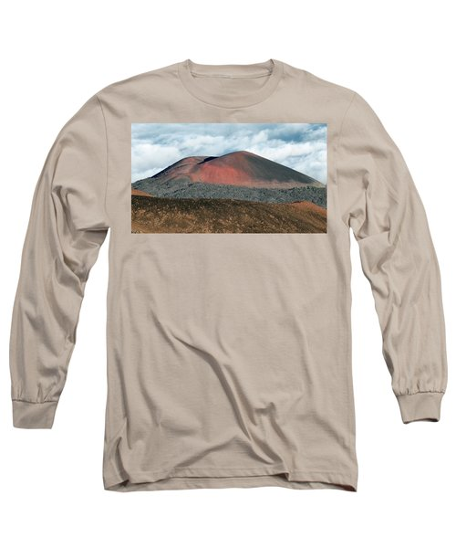 Long Sleeve T-Shirt featuring the photograph Looking Down by Jim Thompson