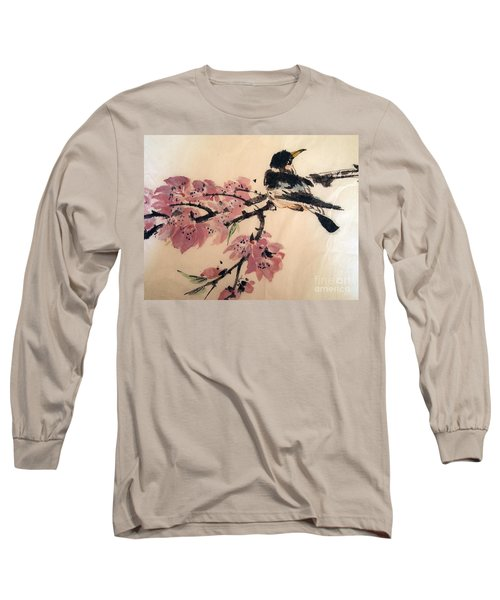 Looking Pretty Long Sleeve T-Shirt by Nancy Kane Chapman