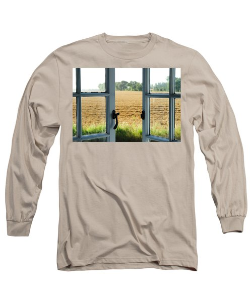 Looking Through A Window Long Sleeve T-Shirt