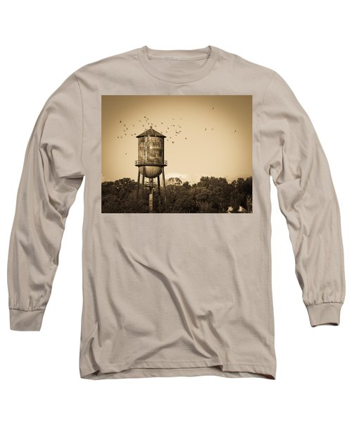 Loudon Water Tower Long Sleeve T-Shirt by Melinda Fawver