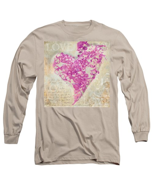 Love Is A Gift Long Sleeve T-Shirt by Fran Riley