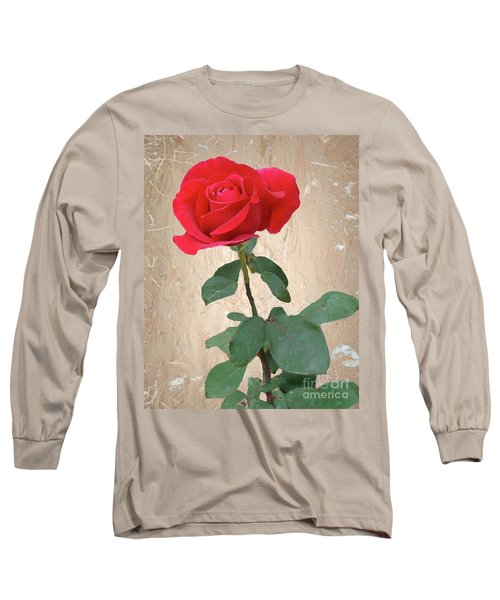 Love Is Like A Red Red Rose Long Sleeve T-Shirt