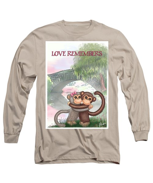 Love Remembers Long Sleeve T-Shirt by Jerry Ruffin