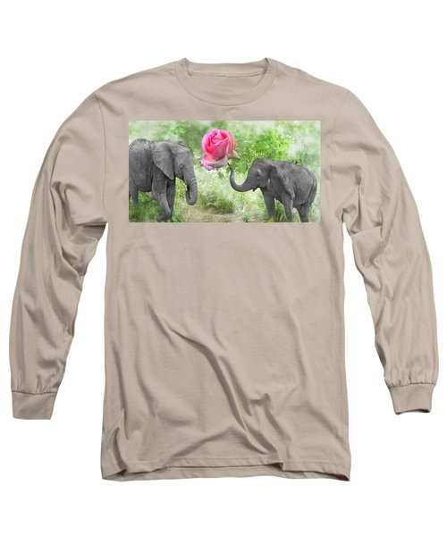 Love-rose Long Sleeve T-Shirt